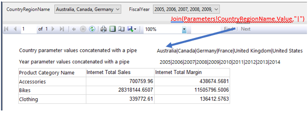 SSRS Multi-Value parameter in DAX - DataKuity