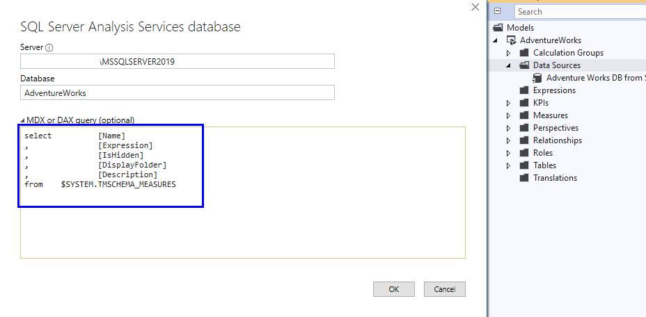 Data Dictionary Using DMV Queries