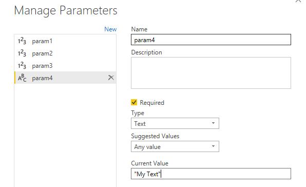 pass parameter value to python in power bi